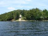 view from otter lake of grand muskokan, vacation house and vacation house rentals