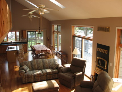 gm main floor muskoka cottage rental