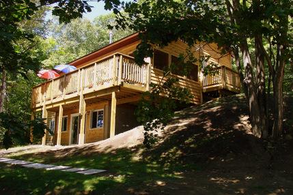 premium pet friendly cottage 5 sunny point otter lake parry rh sunnypointresort com